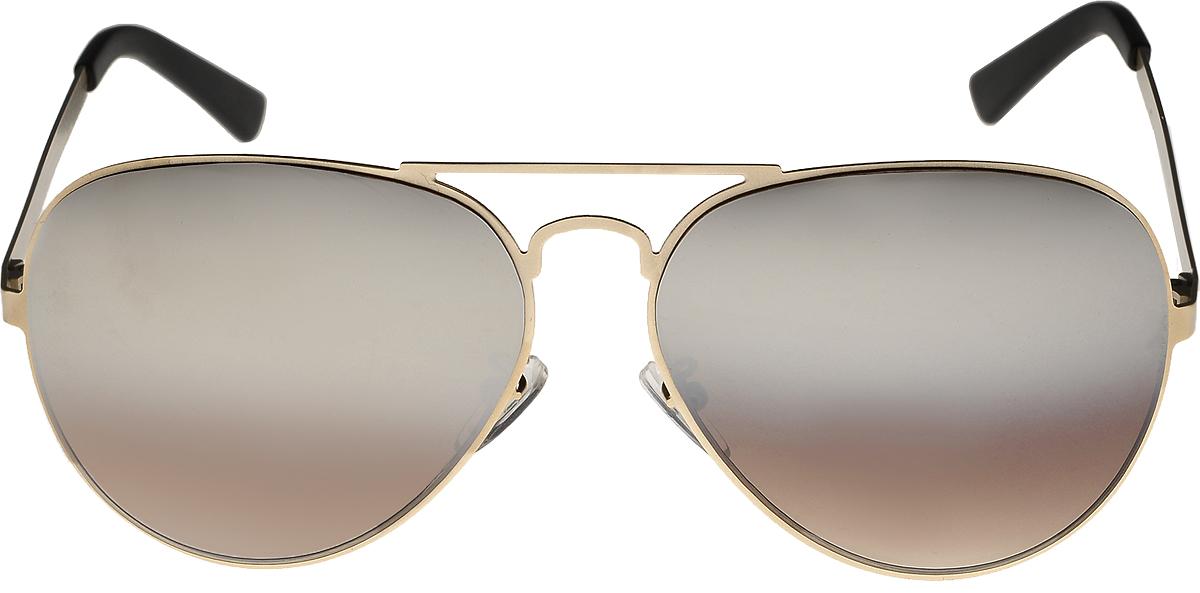 Очки солнцезащитные мужские Vita Pelle, цвет: золотистый, коричневый. ОС1005с7/17fОС1005с7/17fОчки солнцезащитные Vita Pelle это знаменитое итальянское качество и традиционно изысканный дизайн.