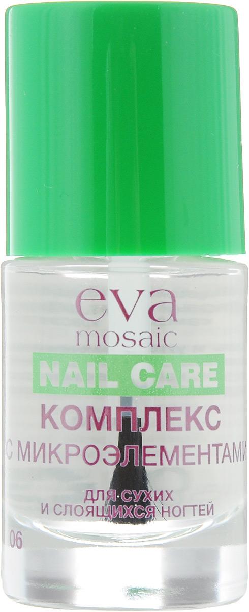 Eva Mosaic Уход для сухих, ломких и слоящихся ногтей, 10 мл685687Полная линия профессиональных продуктов для достижения эффекта салонного маникюра дома.
