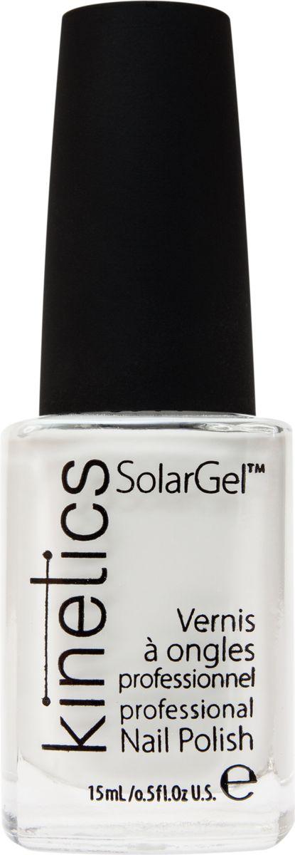 Kinetics Профессиональный лак SolarGel Polish, 15 мл, тон 001KNP001Новое поколение профессиональных гелевых лаков для ногтей, которые наносятся как обычный лак, а выглядят как гель. Ультра модные и классические цвета, поражают своей стойкостью и разнообразием оттенков. Стойкость до 10 дней, не требует специальной сушки в UV/LED лампе. Рекомендуется использовать с верхним покрытием SolarGel Top Coat