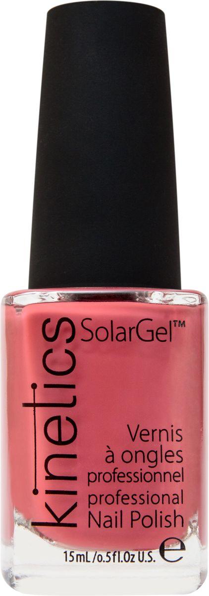 Kinetics Профессиональный лак SolarGel Polish, 15 мл, тон 206KNP206Новое поколение профессиональных гелевых лаков для ногтей, которые наносятся как обычный лак, а выглядят как гель. Ультра модные и классические цвета, поражают своей стойкостью и разнообразием оттенков. Стойкость до 10 дней, не требует специальной сушки в UV/LED лампе. Рекомендуется использовать с верхним покрытием SolarGel Top Coat