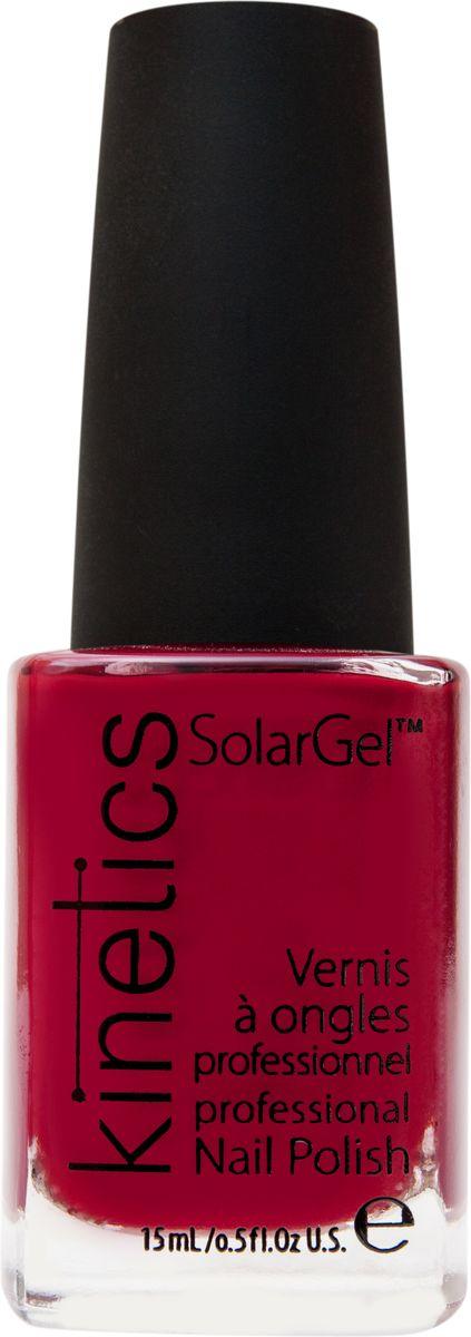 Kinetics Профессиональный лак SolarGel Polish, 15 мл, тон 258KNP258Новое поколение профессиональных гелевых лаков для ногтей, которые наносятся как обычный лак, а выглядят как гель. Ультра модные и классические цвета, поражают своей стойкостью и разнообразием оттенков. Стойкость до 10 дней, не требует специальной сушки в UV/LED лампе. Рекомендуется использовать с верхним покрытием SolarGel Top Coat