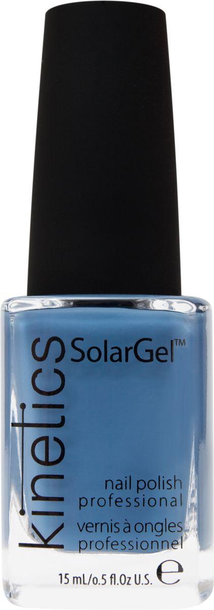 Kinetics Профессиональный лак SolarGel Polish, 15 мл, тон 346KNP346Новое поколение профессиональных гелевых лаков для ногтей, которые наносятся как обычный лак, а выглядят как гель. Ультра модные и классические цвета, поражают своей стойкостью и разнообразием оттенков. Стойкость до 10 дней, не требует специальной сушки в UV/LED лампе. Рекомендуется использовать с верхним покрытием SolarGel Top Coat