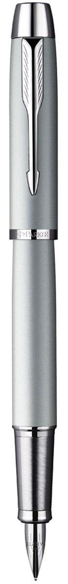 Parker Ручка перьевая Im Silver CT цвет корпуса светло-серыйPARKER-S0856200Ручка - это не просто пишущий инструмент, это - часть имиджа, наглядно демонстрирующая статус, характер и образ жизни ее владельца. Перьевая ручка Parker Im Silver CT с пером из нержавеющей стали - это гарант вашего неповторимого стиля и элегантности. Корпус ручки выполнен из нержавеющей стали, а хранится она в фирменном футляре. Бренд Parker гарантирует полную уверенность в превосходном качестве товара. Ручка Parker будет не только долго служить, но и неизменно радовать удобством и легкостью письма, надежностью в эксплуатации и прекрасным эстетическим исполнением. Удивительное разнообразие моделей, а также великолепие и надежность отделки поверхностей позволяют удовлетворить даже самые взыскательные вкусы, обеспечивая при этом безукоризненность исполнения самых разных задач в процессе письма.