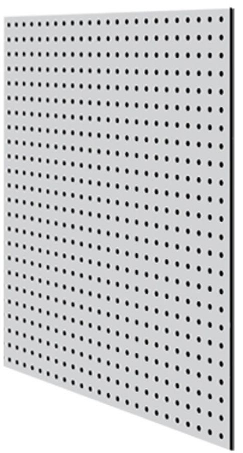 "Перфопанель ""MasterProf"", 59,5 х 59,5 х 0,5 см, цвет: серый ТД.010051"