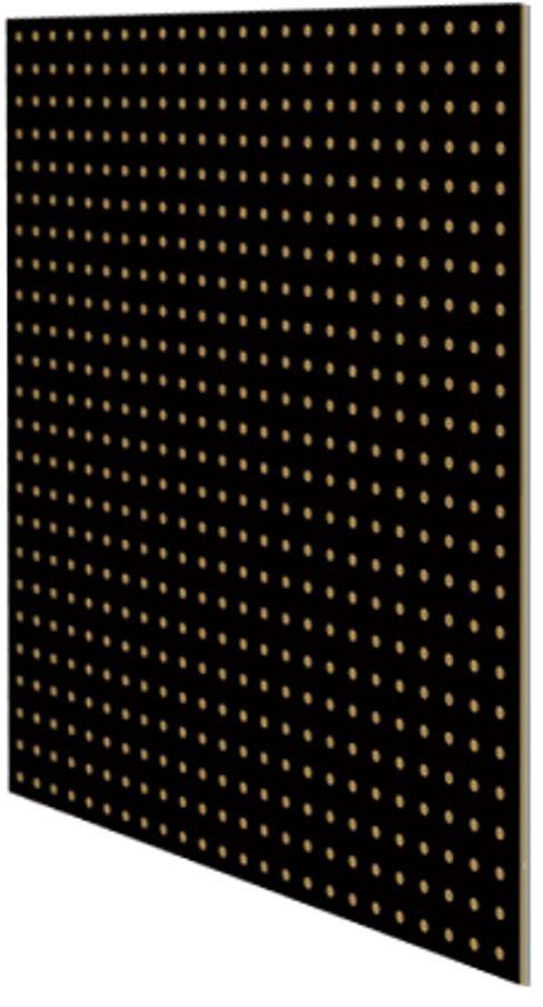 """Перфопанель """"MasterProf"""", 59,5 х 59,5 х 0,5 см, цвет: черный ТД.010052"""