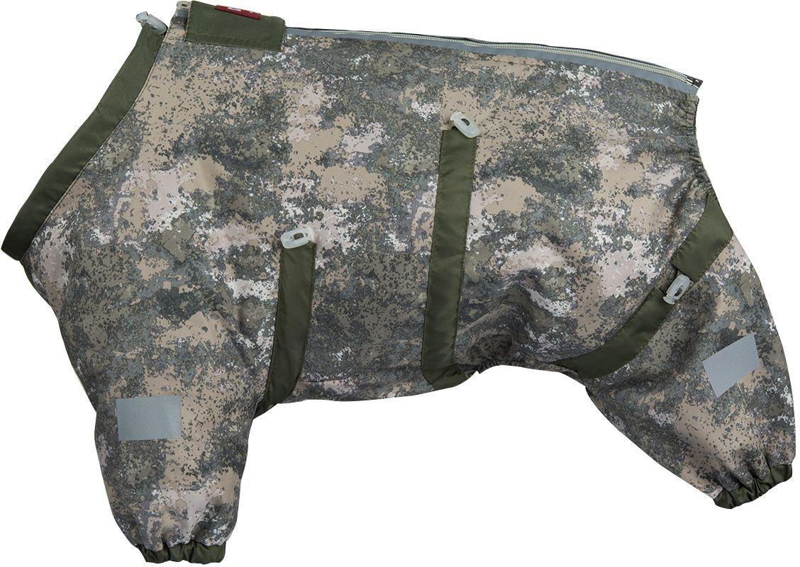 Комбинезон для собак Dogmoda Doggs Active, для мальчика, №28. DM-160304DM-160304Dogmoda представляет новинку в коллекции Doggs - Active, для собак которые любят активные прогулки. Ткань, из которого выполнен комбинезон была разработана для людей, работающих в экстремальных условиях, для охотников и сложных погодных условий. Главная особенность моделей Doggs – четыре затяжки-фиксатора, позволяющие одежде идеально садиться по фигуре, даже если она не является стандартной. Размер комбинезона Doggs соответствует длине спины от холки до хвоста. спина 28 шея 56 грудь 68. Породы: мопс, французский бульдог, керн-терьер, вестхайленд-уайт-терьер, бишон фризе, кавалер кинг чарльз спаниель, пудель карликовый, немецкий ягдтерьер, джек-рассел-терьер, бостон-терьер. Ваша собака все еще не любит одеваться? Познакомьте ее с Doggs! -Облегчающий процесс надевания и носки; -ничто не сковывает и не ограничивает свободу движений питомца; -одежда плотнее прилегает к телу и идеально садиться по фигуре; -полностью закрывается доступ сквознякам, холодному воздуху и влаге.