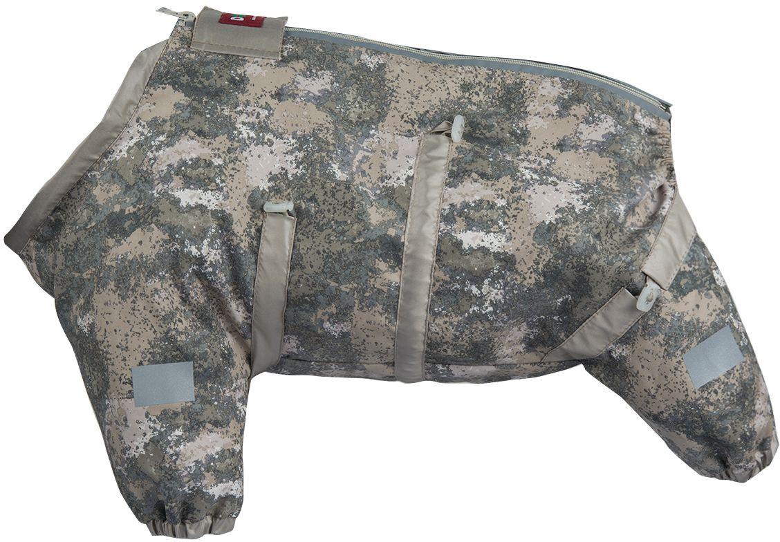 Комбинезон для собак Dogmoda Doggs Active, для девочки, №54. DM-160313DM-160313Dogmoda представляет новинку в коллекции Doggs - Active, для собак которые любят активные прогулки. Ткань, из которого выполнен комбинезон была разработана для людей, работающих в экстремальных условиях, для охотников и сложных погодных условий. Главная особенность моделей Doggs – четыре затяжки-фиксатора, позволяющие одежде идеально садиться по фигуре, даже если она не является стандартной. Размер комбинезона Doggs соответствует длине спины от холки до хвоста. спина 54 шея 66 грудь 100 Породы: лабрадор-ретривер, канне корсо, чау чау, маламут, овчарка, австралийская овчарка, боксер. Ваша собака все еще не любит одеваться? Познакомьте ее с Doggs! -Облегчающий процесс надевания и носки; -ничто не сковывает и не ограничивает свободу движений питомца; -одежда плотнее прилегает к телу и идеально садиться по фигуре; -полностью закрывается доступ сквознякам, холодному воздуху и влаге.