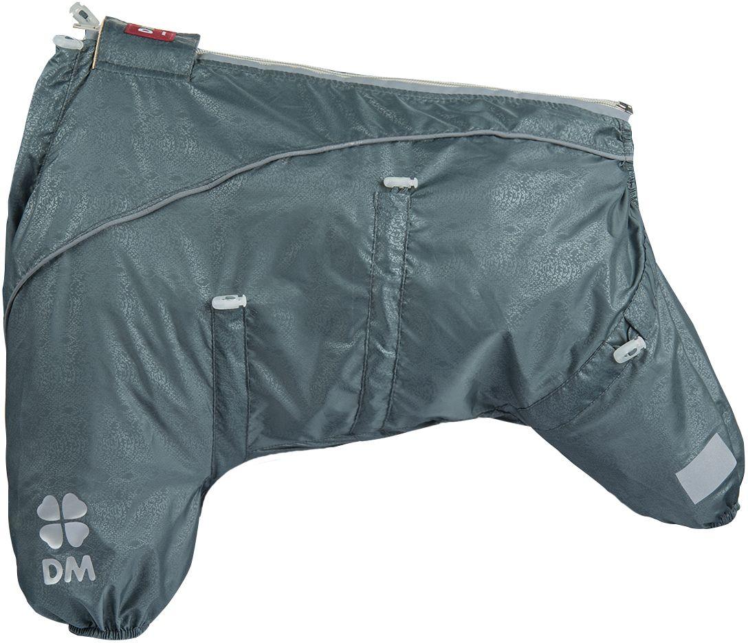Комбинезон для собак Dogmoda Doggs Лайт, для мальчика, №28. DM-160329DM-160329Dogmoda представляет новинку в коллекции Doggs - Лайт. Комбинезон изготовлен из водоотталкивающей и ветрозащитной ткани, без подкладки, его можно одевать как и в дождливую так и в сухую погоду, защищая питомца от грязи и пыли. Главная особенность моделей Doggs – четыре затяжки-фиксатора, позволяющие одежде идеально садиться по фигуре, даже если она не является стандартной. Размер комбинезона Doggs соответствует длине спины от холки до хвоста. спина 28 шея 56 грудь 68. Породы: мопс, французский бульдог, керн-терьер, вестхайленд-уайт-терьер, бишон фризе, кавалер кинг чарльз спаниель, пудель карликовый, немецкий ягдтерьер, джек-рассел-терьер, бостон-терьер. Ваша собака все еще не любит одеваться? Познакомьте ее с Doggs! -Облегчающий процесс надевания и носки; -ничто не сковывает и не ограничивает свободу движений питомца; -одежда плотнее прилегает к телу и идеально садиться по фигуре; -полностью закрывается доступ сквознякам, холодному воздуху и влаге.