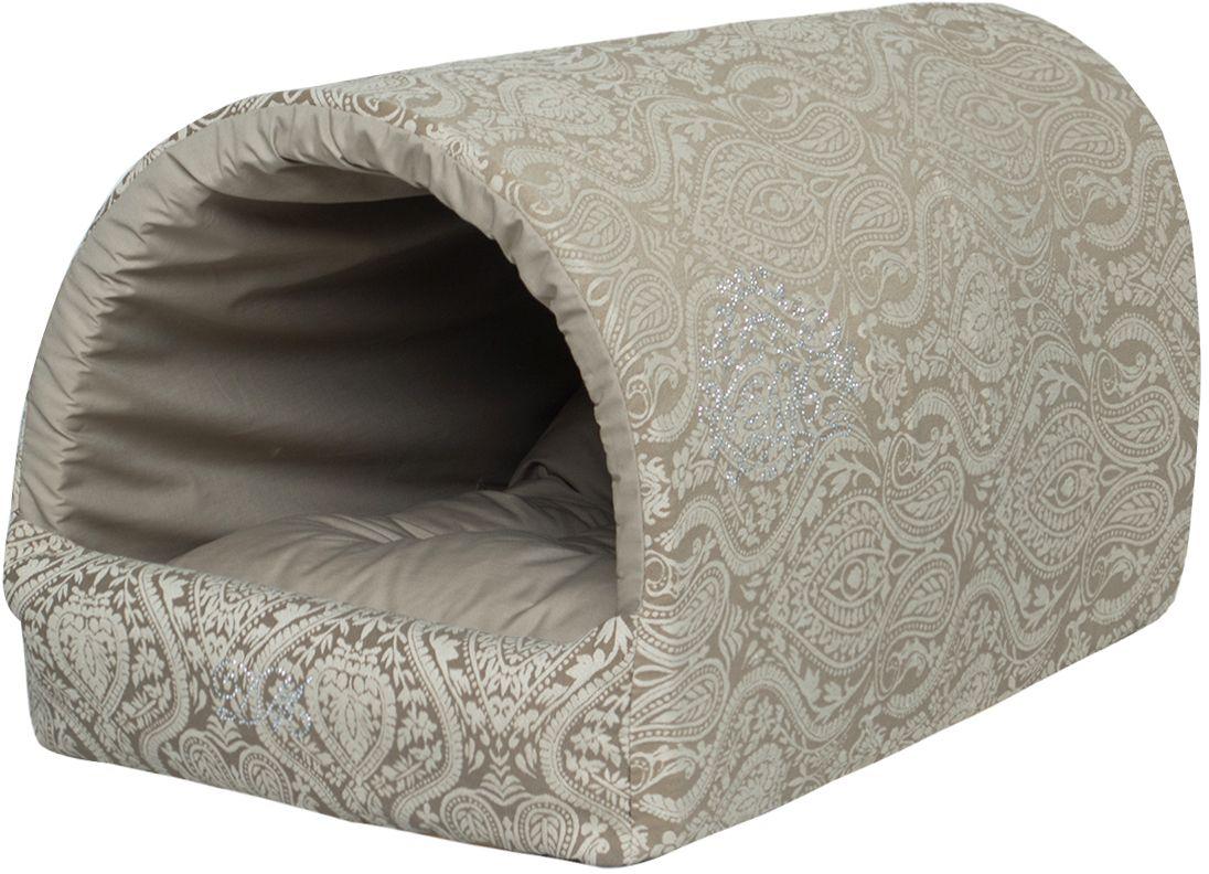 Домик для собак Dogmoda Элегант. DM-160116-2DM-160116-2Домик защитит вашего питомца от сквозняков, и создаст атмосферу защищенности, отдыхая в нем, ваша собачка будет испытывать настоящее блаженство. Внутри домика мягкое покрытие из качественной ткани. Приобретая данное изделие, вы можете быть уверены, что теперь сон вашего любимца будет крепким и спокойным.