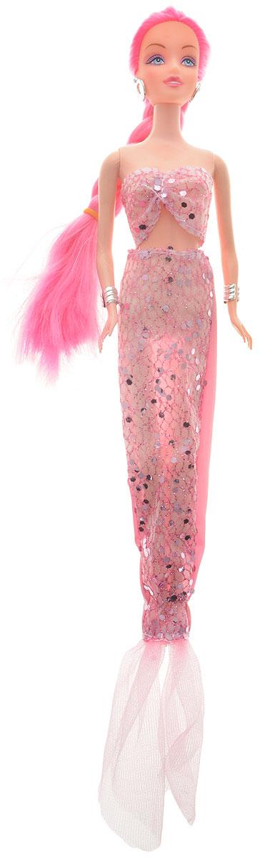 Veld-Co Кукла Русалка цвет одежды розовый