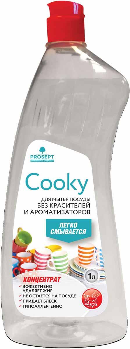 Гель для мытья посуды Prosept Cooky, концентрат, без запаха, 1 л132-1Нейтральное густое гелеобразное средство для мытья посуды вручную. Характеризуется умеренным пенообразованием, высоким обезжиривающим действием в горячей и холодной воде. Удаляет следы пищи, жиры животного и растительного происхождения со всех видов поверхностей. Придает блеск стеклянной посуде.