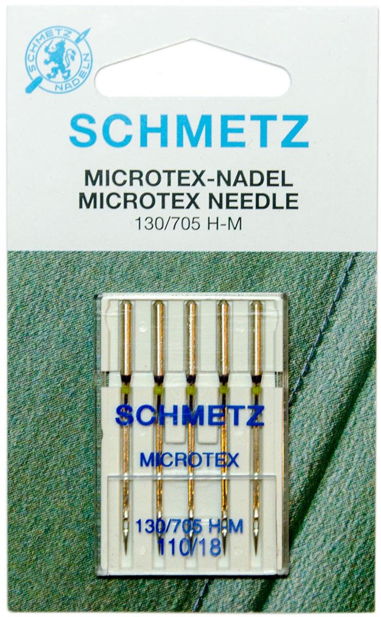 Игла для бытовых швейных машин Schmetz, №110, 5 шт22:31.MA2.VFSИглы для бытовых швейных машин всех марок