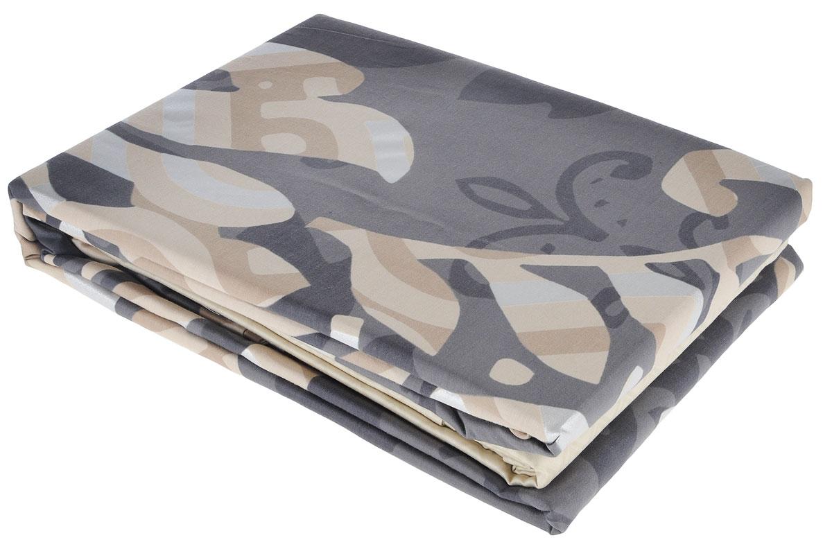 Комплект белья TAC Claudia, 2-спальный, наволочки 50х70 см, цвет: серый, бежевый3081-15613Роскошный комплект постельного белья TAC Claudia выполнен из качественного плотного сатина и декорирован красочным принтом. Комплект состоит из пододеяльника, простыни и двух наволочек. Пододеяльник застегивается на пуговицы. Сатин - гладкая и прочная ткань, которая своим блеском, легкостью и гладкостью похожа на шелк, но выгодно отличается от него в цене. Сатин практически не мнется, поэтому его можно не гладить. Ко всему прочему, он весьма практичен, так как хорошо переносит множественные стирки. Доверьте заботу о качестве вашего сна высококачественному натуральному материалу.