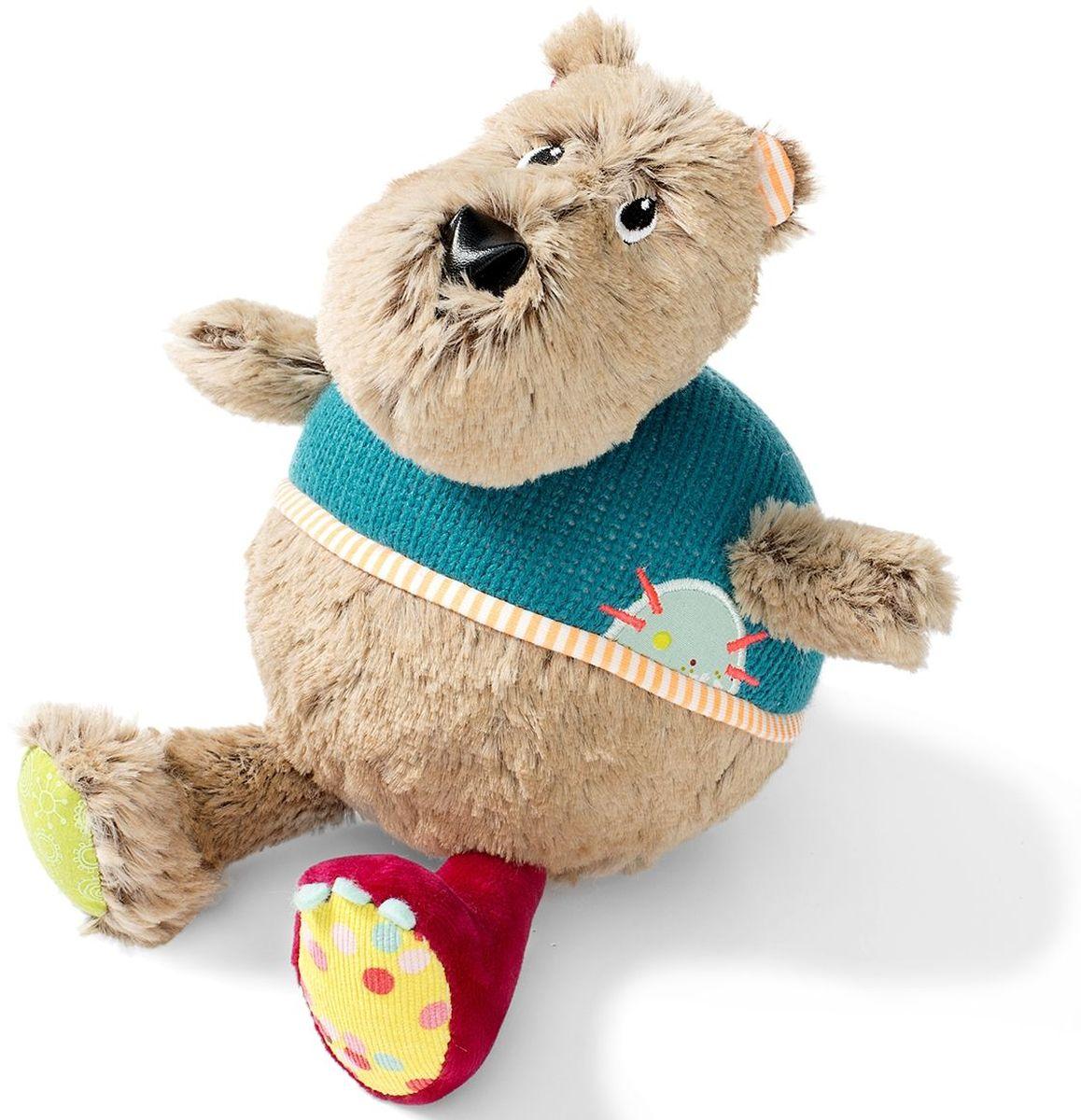 Lilliputiens Неваляшка Медвежонок Цезарь  сумки для детей lilliputiens медвежонок цезарь мягкая сумочка через плечо