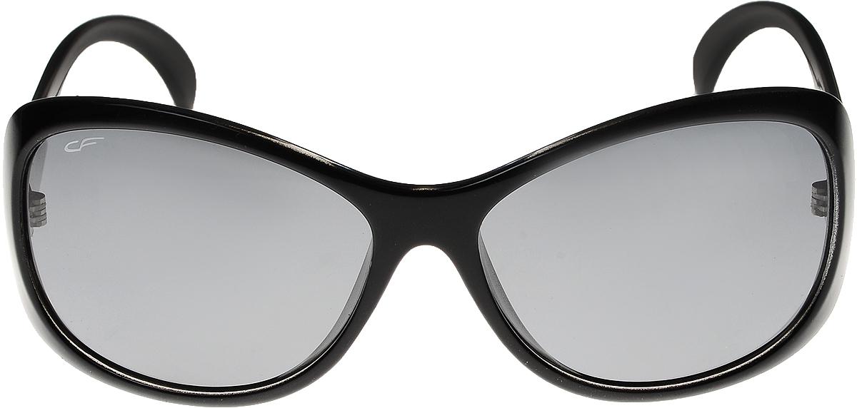 Очки солнцезащитные женские Cafa France, цвет: черный. CF7214