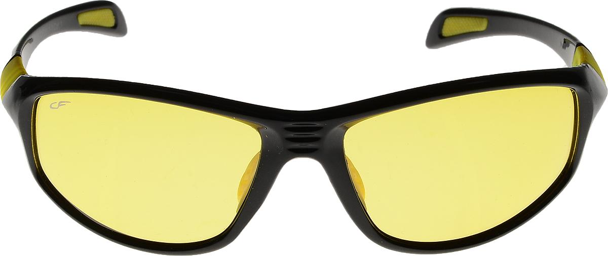 Очки солнцезащитные мужские Cafa France, цвет: черный. CF301YCF301YОчки Cafa France - это стильный аксессуар, незаменимый для всех водителей. Очки водителя Cafa France представлены в двух типах линз, которые обеспечивают максимальный комфорт при вождении в любое время суток и в любую погоду. Очки с желтыми линзами уменьшают ослепление от фар встречных автомобилей и защищают от бликов. В снег, дождь, туман, и даже ночью и в сумерках вы можете быть уверены, что изображение останется четкими и контрастными. Создаваемый эффект солнца способствует улучшению настроения, а также снижает утомляемость и сонливость. Очки с темными линзами Cafa France гарантируют 100% защиту от УФ-лучей, а также защищают от бликов и отраженного света, что существенно снижает риск ДТП. В отличие от обычных солнцезащитных очков, очки водителя Cafa France обладают оптимальной степенью затемнения, благодаря чему обеспечивается идеальный обзор дороги. Очки водителя Cafa France имеют самую высокую эффективность поляризации - 99,9% (видимость без бликов), линзы, состоят из...
