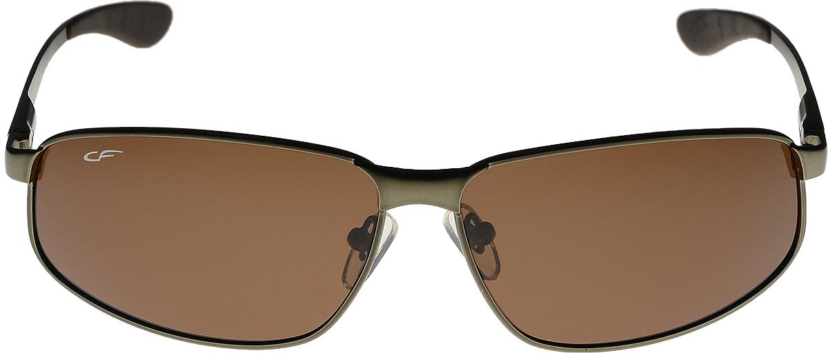 Очки солнцезащитные мужские Cafa France, цвет: серебристый. CF3108