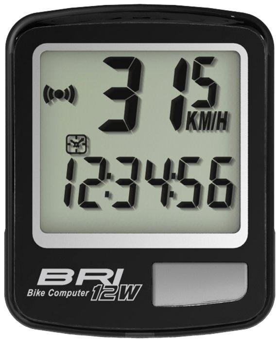 Велокомпьютер беспроводной Echowell BRI-12W, 12 функций, цвет: черныйBRI-12WБеспроводной велокомпьютер Echowell BRI-12W с двенадцатью функциями в стильном корпусе предназначен для использования при занятиях велоспортом, велотуризмом и просто катании на велосипеде. Это удобный и простой в использовании электронный прибор, предоставляющий велосипедисту всю необходимую информацию о поездке. Имеет отличную водо и пылезащиту. Велокомпьютер состоит из двух частей - дисплея, внешне похожего на электронные часы и датчика скорости. Дисплей крепится на руле с возможностью мгновенно отсоединить его, когда нет желания оставлять на велосипеде без присмотра или под дождем. Магнитный датчик скорости (геркон) крепится рядом с колесом. Благодаря беспроводной технологии, дисплей и датчик скорости не имеют лишних проводов. Велокомпьютер определяет скорость движения с точностью до десятых долей, дистанцию - с точностью до 10 метров. На дисплее функции поочередно сменяют друг друга. Все операции и настройки выполняются одной кнопкой.Функции: -...
