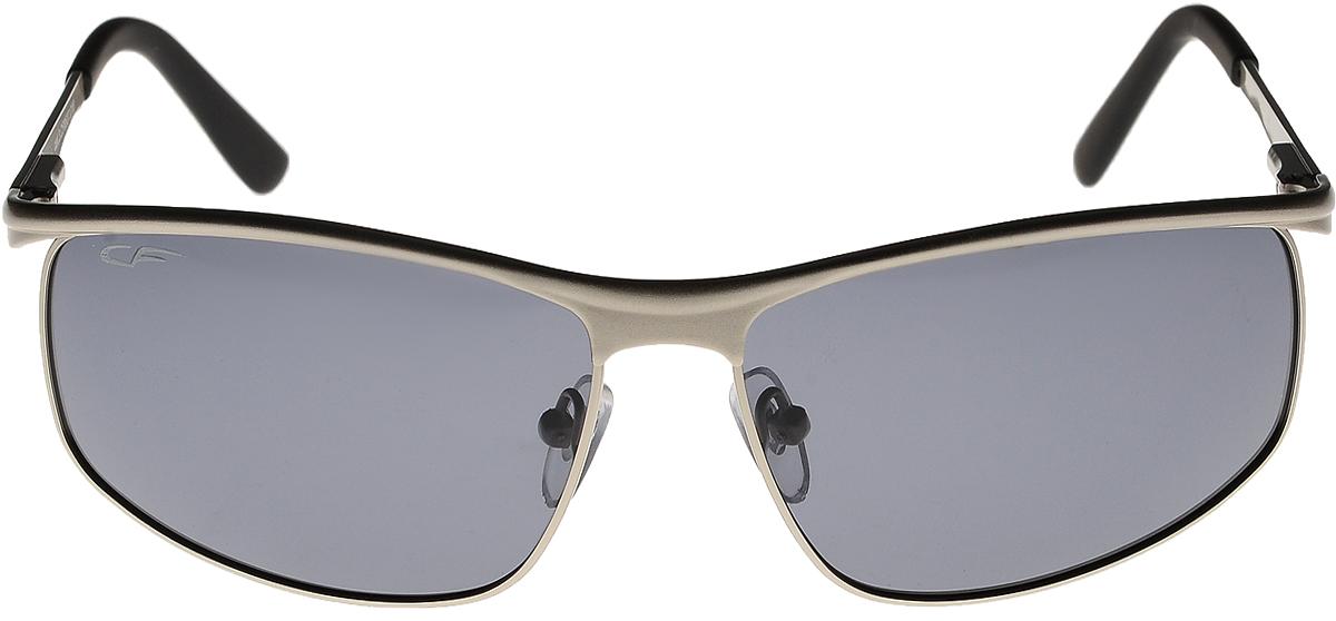 Очки солнцезащитные мужские Cafa France, цвет: серебристый. CF8537