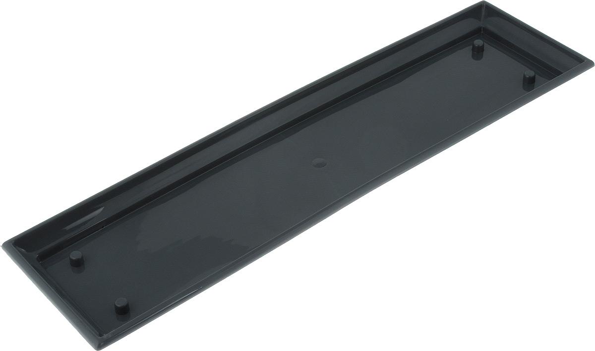 Поддон для балконного ящика Santino, цвет: антрацит, длина 55 смПБ 600 АНТПоддон для балконного ящика Santino выполнен из прочного цветного пластика. Изделие предназначено для стока воды.