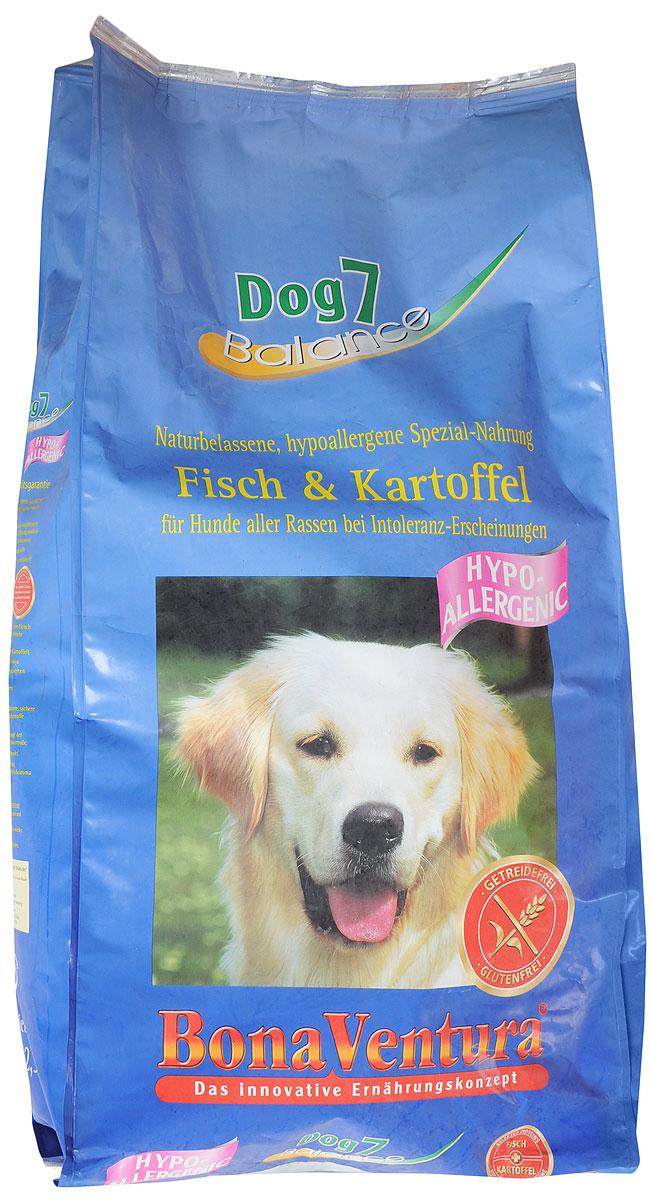 Корм сухой BonaVentura Dog 7 Hipo Allergenic, для собак, гипоаллергенный, с рыбой и картофелем, 12,5 кг205612Натуральный гиппоалергенный корм для собак BonaVentura Dog 7 Hipo Allergenic произведен из продуктов, пригодных в пищу человека по специальной технологии, схожей с технологией Sous Vide. Благодаря технологии при изготовлении сохраняются все натуральные витамины и минералы. Это достигается благодаря бережной обработке всех ингредиентов при температуре менее 80 градусов. Такая бережная обработка продуктов не стерилизует продуктовые компоненты. Благодаря этому корма не нуждаются ни в каких дополнительных вкусовых добавках и сохраняют все необходимые полезные вещества. При производстве кормов используются исключительно свежие натуральные продукты: мясо, овощи и зерновые; Приготовлено из 100% свежего мяса, пригодного в пищу человеку; Содержит натуральные витамины, аминокислоты, минеральные вещества и микроэлементы; С экстрактом масла зародышей зерна пшеницы холодного отжима (Bio-Dura); Без химических красителей, усилителей вкуса, искусственных консервантов...