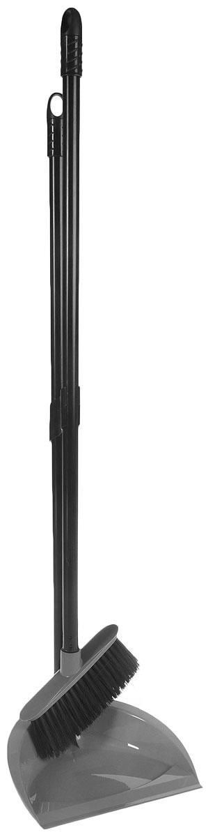 Набор для уборки Svip Классика, цвет: серебряный, 2 предметаSV3100СБНабор для уборки Svip Классика включает в себя совок и метелку, выполненные из высококачественного пластика. Сглаженный край совка обеспечивает наиболее плотное прилегание к полу. Поверхность совка сделана под уклоном - это препятствует вываливание мусора при заметании. Совок удобно складывается, благодаря чему набор можно хранить даже в ограниченном пространстве. Щетка имеет удобную форму и длинный ворс, что позволяет вымести мусор даже из труднодоступных мест. Совок и щетка оснащены длинными ручками с отверстиями для подвешивания. Рукоятки совка и метелки прочно соединены – это препятствует рассыпанию набора в период хранения и транспортировки. С набором Svip Классика уборка станет легче и приятнее. Общая длина щетки: 92 см, Ширина рабочей части щетки: 18 см, Длина совка: 85 см, Размер рабочей части совка: 23 см х 22 см х 6,5 см.