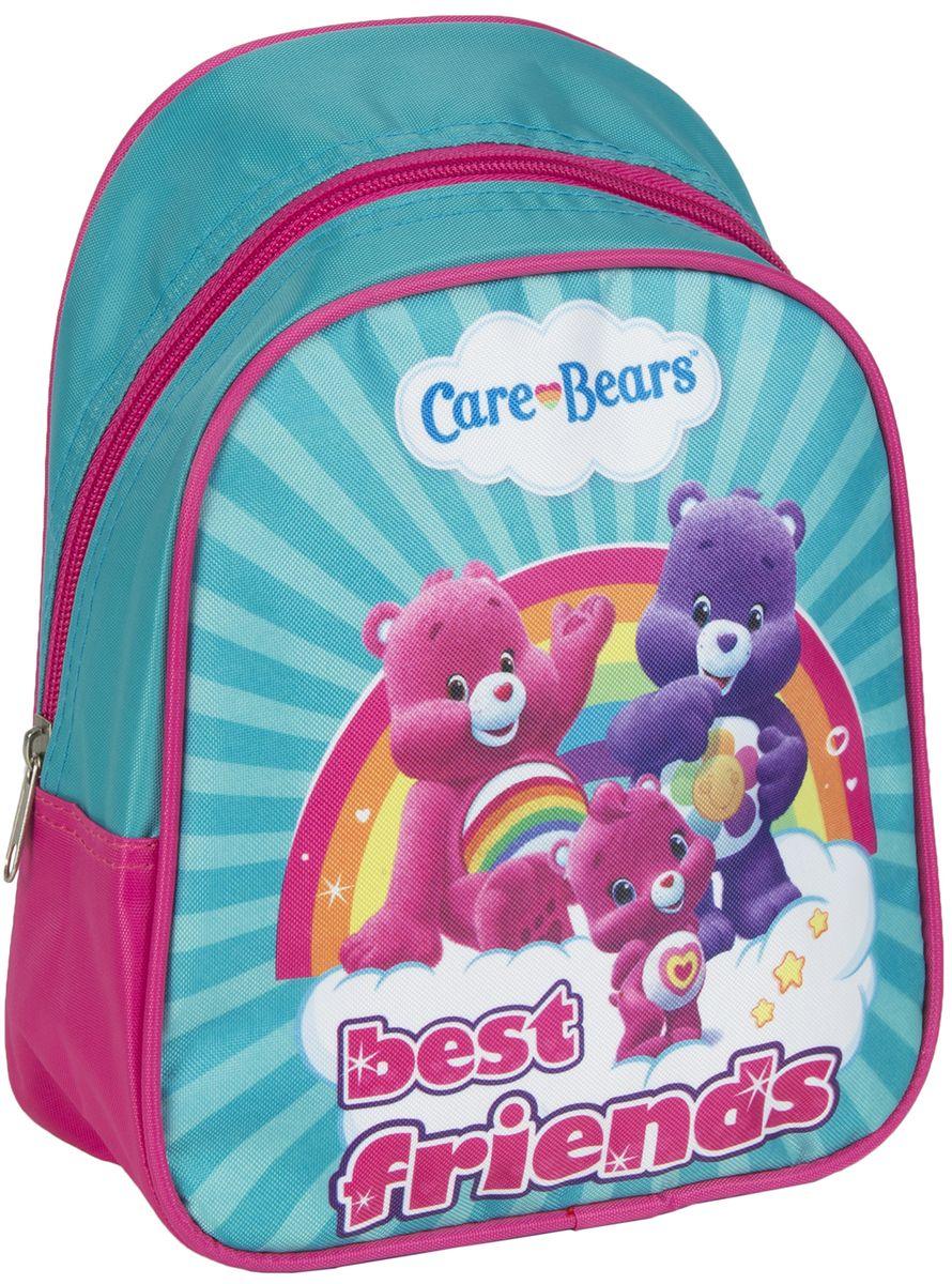 Заботливые мишки Рюкзак дошкольный малый 3172831728Легкий и компактный дошкольный рюкзачок «Заботливые мишки» – это красивый и удобный аксессуар для вашего ребенка. В его внутреннем отделении на молнии легко поместятся не только игрушки, но даже тетрадка или книжка. Благодаря регулируемым лямкам, рюкзачок подходит детям любого роста. Удобная ручка помогает носить аксессуар в руке или размещать на вешалке. Износостойкий материал с водонепроницаемой основой и подкладка обеспечивают изделию длительный срок службы и помогают держать вещи сухими в дождливую погоду. Аксессуар декорирован ярким принтом (сублимированной печатью), устойчивым к истиранию и выгоранию на солнце. Размер: 23х19х8 см.