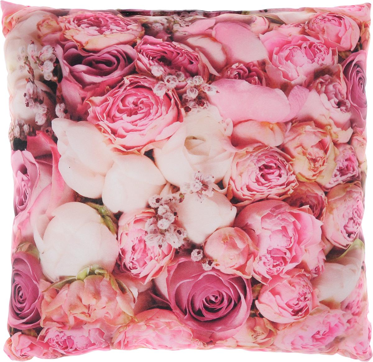 Подушка декоративная Сирень Очарование, 40 х 40 см01134-ПШ-ГБ-012Декоративная подушка Сирень Очарование, изготовленная из габардина (100% полиэстер), прекрасно дополнит интерьер спальни или гостиной. Подушка оформлена красочным изображением цветов. Внутри - мягкий наполнитель из холлофайбера (100% полиэстер). Красивая подушка создаст атмосферу тепла и уюта в спальне и станет прекрасным элементом декора.