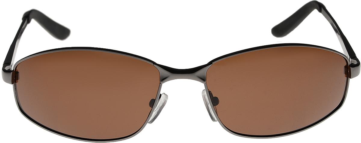 Очки солнцезащитные Vittorio Richi, цвет: коричневый. ОС12773/17fОС12773/17fОчки солнцезащитные Vittorio Richi это знаменитое итальянское качество и традиционно изысканный дизайн.