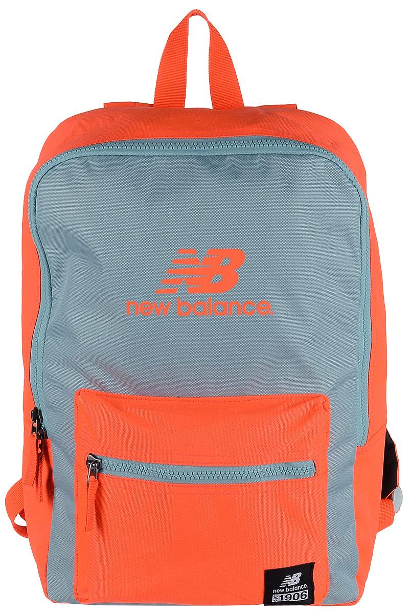 Рюкзак городской New Balance Booker Backpack, цвет: оранжевый, 11 л500046/AO