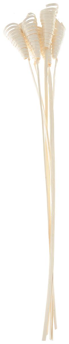 Украшение декоративное Lovemark Завиток Кейн-Кон, цвет: слоновая кость, длина 62,5 см, 6 шт6059_слоновая костьБукет с цветами ручной работы - великолепный подарок себе и вашим близким. Этот очаровательный предмет интерьера будет приковывать взгляды ваших гостей. Изделия из соломы сочетают в себе энергию солнечных лучей и человеческих рук. Несмотря на свой хрупкий вид, cолома - прочный и долговечный материал, а значит не помнется и не поломается со временем. Рекомендации по уходу: изделие должно находиться в сухом помещении.