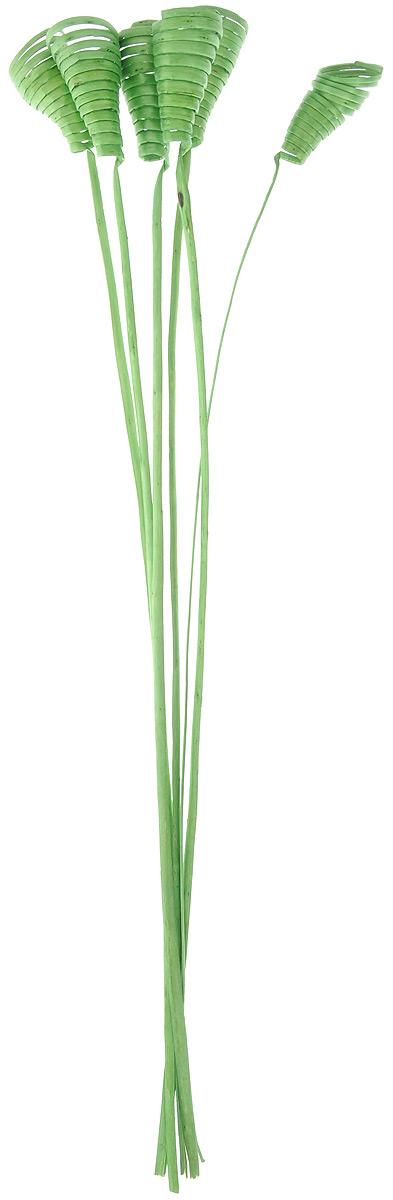 Украшение декоративное Lovemark Завиток Кейн-Кон, цвет: зеленый, длина 62,5 см, 6 шт6059_зеленыйБукет Lovemark Завиток Кейн-Кон с цветами ручной работы - великолепный подарок себе и вашим близким. Этот очаровательный предмет интерьера будет приковывать взгляды ваших гостей. Изделия из соломы сочетают в себе энергию солнечных лучей и человеческих рук. Несмотря на свой хрупкий вид, солома - прочный и долговечный материал, а значит не помнется и не поломается со временем. Рекомендации по уходу: изделие должно находиться в сухом помещении.