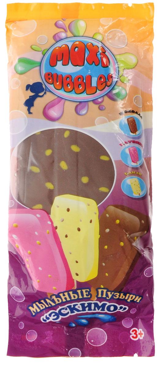 Maxi Bubbles Мыльные пузыри Эскимо с ароматом шоколада 110 мл