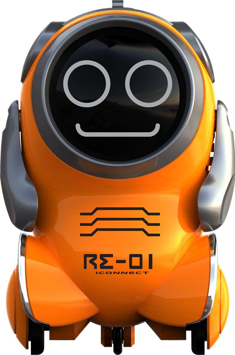 Silverlit Робот на радиоуправлении Покибот цвет оранжевый