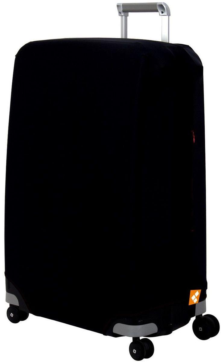 Чехол для чемодана Routemark Black, размер L/XL (75-85 см)Bl-L/XLДля больших чемоданов, высотой от 75 до 85 см (29-33 inch) (мерить от пола). Плотность ткани - 240 г/кв.м, упрочнённые швы, 2 потайные молнии для боковых ручек с двух сторон. Внизу чехла - молния трактор, дополнительная резинка с фастексом для лучшей усадки. Стойкая сублимационная печать.