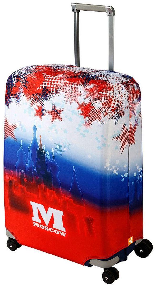 Чехол для чемодана Routemark Moscow, размер M/L (65-74 см)Mos-M/LДля чемоданов средних размеров, высотой от 65 до 74 см (24-28 inch) (мерить от пола). Плотность ткани - 240 г/кв.м, упрочнённые швы, 2 потайные молнии для боковых ручек с двух сторон. Внизу чехла - молния трактор, дополнительная резинка с фастексом для лучшей усадки. Стойкая сублимационная печать.