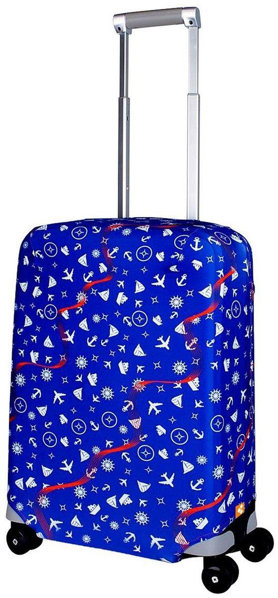 Чехол для чемодана Routemark Traveler, размер S (50-55 см)Trav-SДля чемоданов маленьких размеров, высотой от 50 до 55 см (19-21 inch) (мерить от пола). Плотность ткани - 240 г/кв.м, упрочнённые швы, 2 потайные молнии для боковых ручек с двух сторон. Внизу чехла - молния трактор, дополнительная резинка с фастексом для лучшей усадки. Стойкая сублимационная печать.