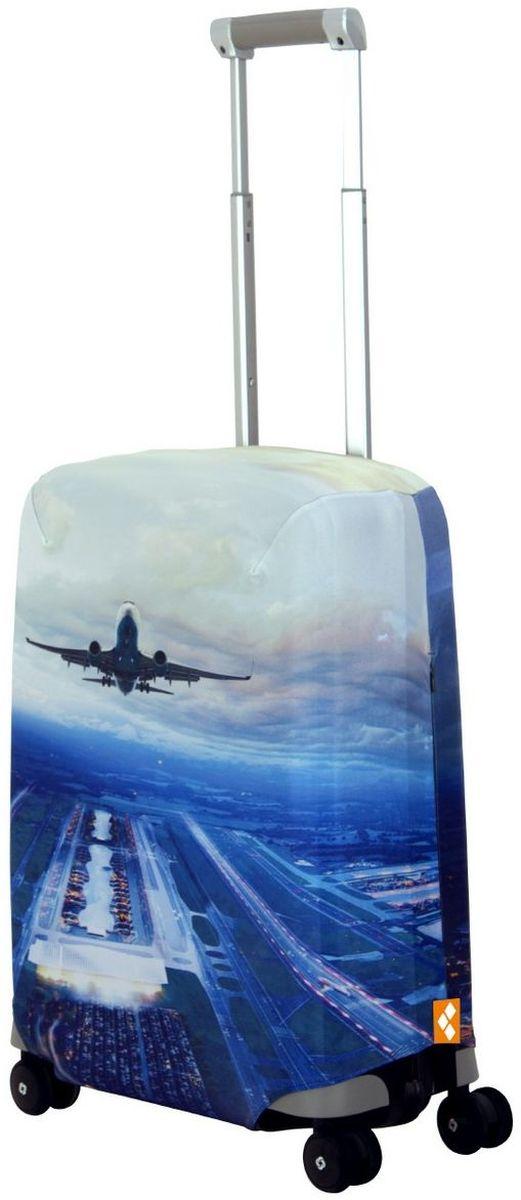 Чехол для чемодана Routemark Plane, размер S (50-55 см)Pl-II-SДля чемоданов маленьких размеров, высотой от 50 до 55 см (19-21 inch) (мерить от пола). Плотность ткани - 240 г/кв.м, упрочнённые швы, 2 потайные молнии для боковых ручек с двух сторон. Внизу чехла - молния трактор, дополнительная резинка с фастексом для лучшей усадки. Стойкая сублимационная печать.