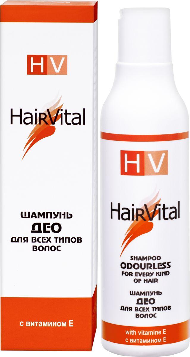 Hair Vital Шампунь для волос Део, 200 мл65032• Дезодорирует, защищает от посторонних запахов • Надежно защищает волосы от неблагоприятных факторов • Нормализует секретную функцию сальных и потовых желез • Препятствует быстрому загрязнению • Укрепляет корни волос, способствует кислородному насыщению тканей • Придает волосам блеск • Оказывает антистатическое действие Активные компоненты: комплекс антиоксидантов, витамин