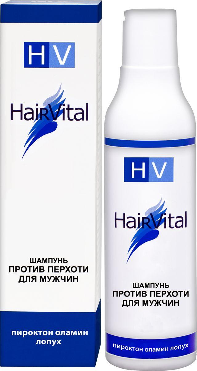 Hair Vital Шампунь для мужчин против перхоти, 200 мл72252• Губительно действует на грибок, вызывающий перхоть • Уменьшает шелушение и зуд кожи головы • Снижает повышенную жировую секрецию • Укрепляет корни волос, тонизирует кожу головы • Придает волосам блеск, силу эластичность Активные компоненты: пироктон оламин, салициловая кислота, экстракты лопуха и коры белой ивы