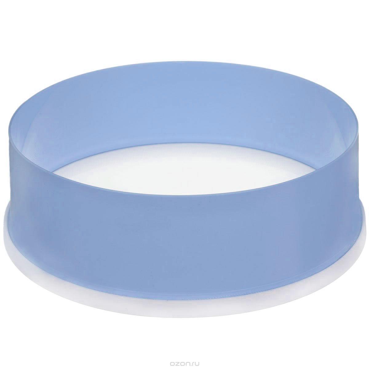 Сито Альтернатива, цвет: голубой, белый, диаметр 22 смM071Сито Альтернатива выполнено из высококачественного пластика. Сито предназначено для просеивания муки, процеживания и промывания продуктов. Прочная сетка и корпус обеспечивают изделию износостойкость и долговечность. Такое сито станет достойным дополнением к кухонному инвентарю. Диаметр: 22 см. Высота стенок: 7,5 см.