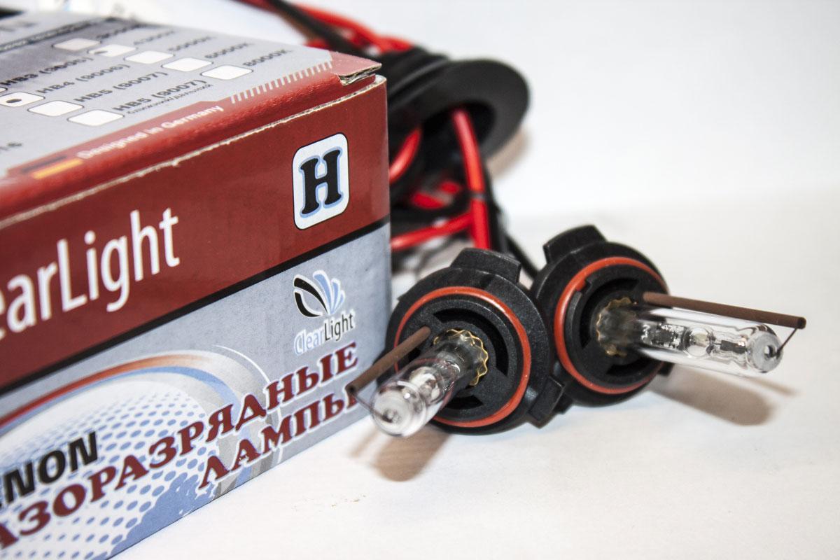 Лампа автомобильная ксеноновая Clearlight, для фар, цоколь HB3 9006, 4300K, 35W, 2 штLDL HB4 430-0LLНадежная ксенононовая лампа для установки в головную оптику автомобиля со спектром света 4300K, 5000К, 6000K, 8000K