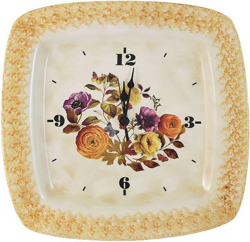 Настенные часы LCS Элеганс, 31,5 х 31,5 см54152Настенные часы 31,5х31,5см Элеганс LCS - молодая, динамично развивающаяся итальянская компания из Флоренции, производящая разнообразную керамическую посуду и изделия для украшения интерьера. В своих дизайнах LCS использует как классические, так и современные тенденции. Высокий стандарт изделий обеспечивается за счет соединения высоко технологичного производства и использования ручной работы профессиональных дизайнеров и художников, работающих на фабрике.