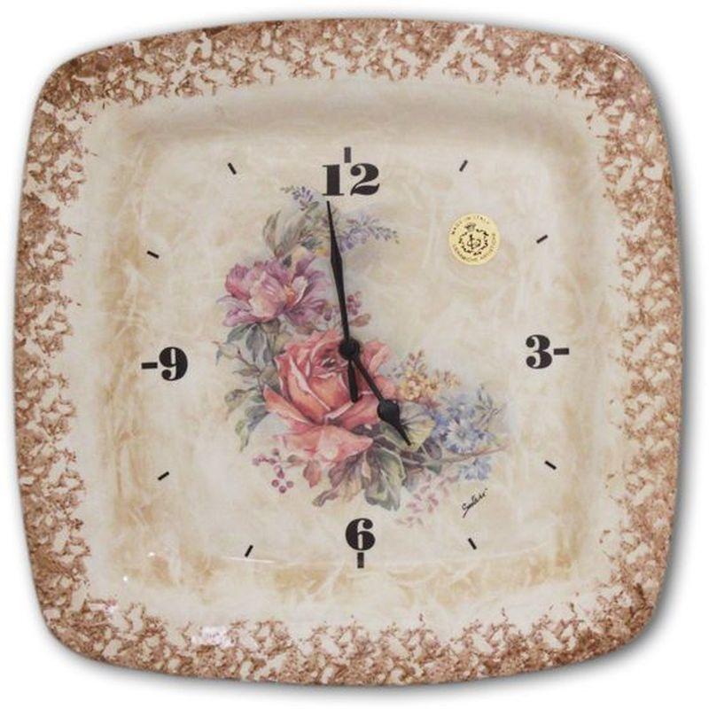 Настенные часы LCS Элианто26473Настенные часы Элианто LCS - молодая, динамично развивающаяся итальянская компания из Флоренции, производящая разнообразную керамическую посуду и изделия для украшения интерьера. В своих дизайнах LCS использует как классические, так и современные тенденции. Высокий стандарт изделий обеспечивается за счет соединения высоко технологичного производства и использования ручной работы профессиональных дизайнеров и художников, работающих на фабрике.