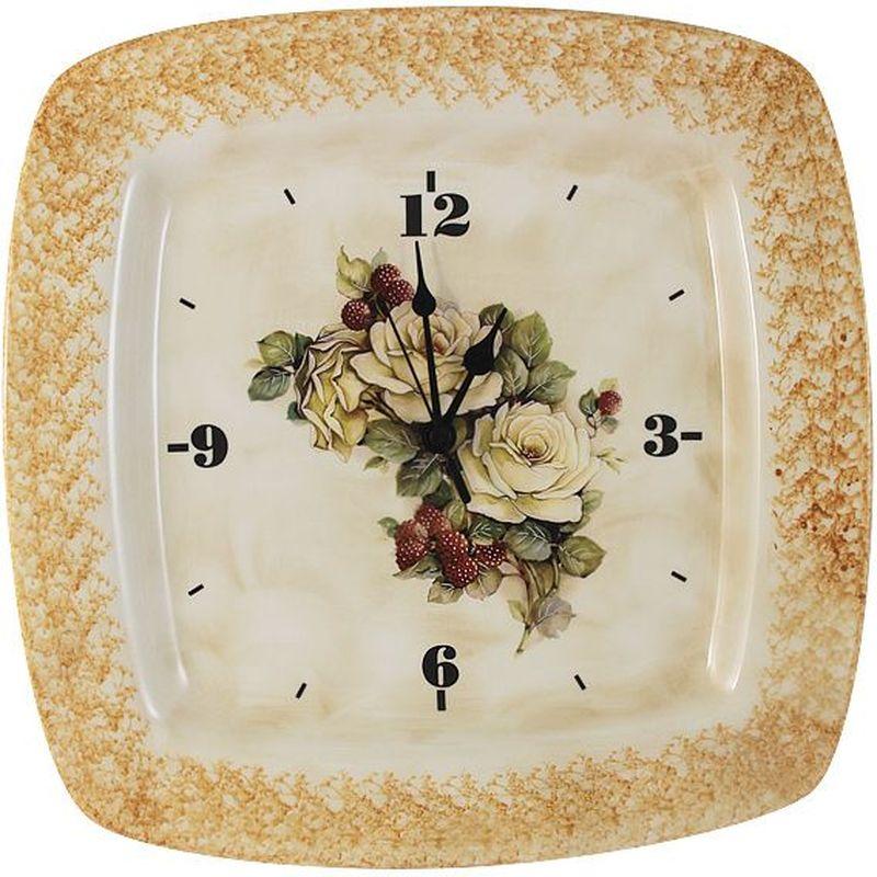 Настенные часы LCS Роза и малина, 31,5 х 31,5 см54186Настенные часы 31,5х31,5см Роза и малина LCS - молодая, динамично развивающаяся итальянская компания из Флоренции, производящая разнообразную керамическую посуду и изделия для украшения интерьера. В своих дизайнах LCS использует как классические, так и современные тенденции. Высокий стандарт изделий обеспечивается за счет соединения высоко технологичного производства и использования ручной работы профессиональных дизайнеров и художников, работающих на фабрике.