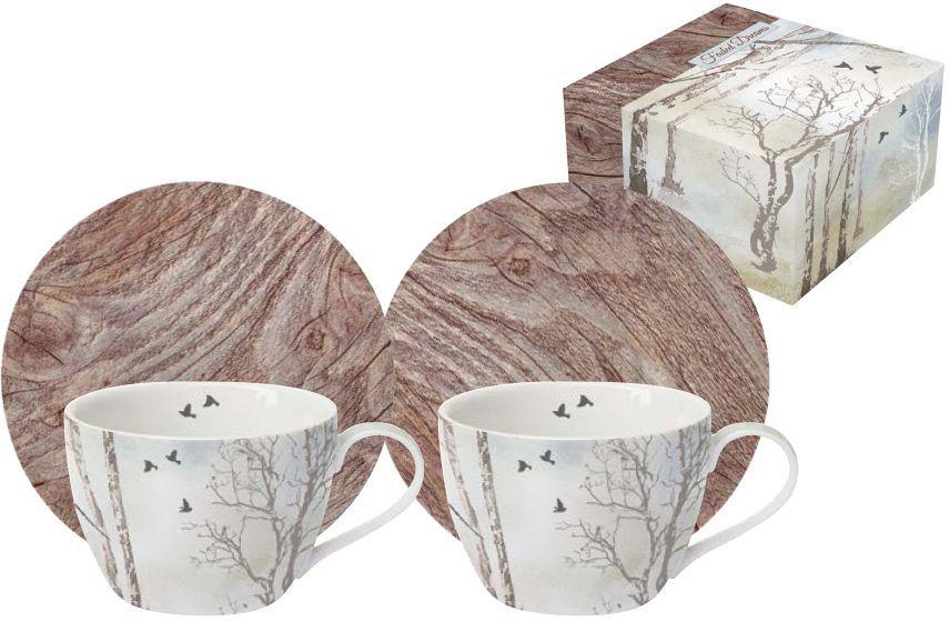 Набор для кофе Nuova R2S Природа: 2 чашки, 80 мл, 2 блюдца53932Набор: 2 чашки 0,08л + 2 блюдца для кофе Природа Итальянская компания Nuova R2S - является лидером производства кухонной посуды и аксессуаров для дома в Италии. Центральный офис компании находится в Италии, производство расположено в Италии и Китае. Концепция выпускаемой продукции заключается в создании единой дизайнерской линии предметов сервировки стола, оформления интерьера кухни или столовой комнаты. Вся продукция производится из современных и экологически чистых материалов: фарфора, стекла, пластика и дерева. Продукция компании Nuova R2S отличается современным дизайном, и легкостью в эксплуатации. Компания работает в тесном сотрудничестве с лучшими итальянскими художниками и дизайнерами. Важным преимуществом этой фабрики, является оригинальная подарочная упаковка. Продукция компании Nuova R2S не только современный подарок и украшение для Вашего дома, но и всегда неисчерпаемое количество идей на Вашей кухне.