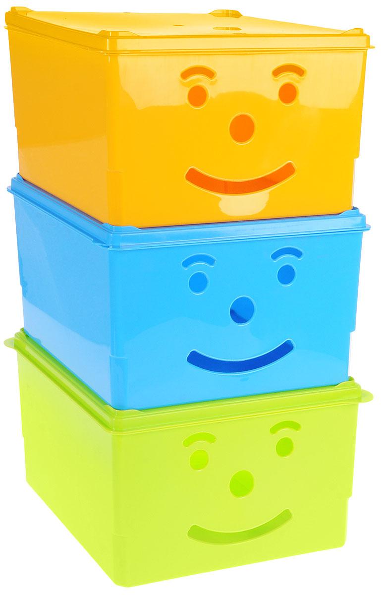 Набор ящиков для хранения Полимербыт