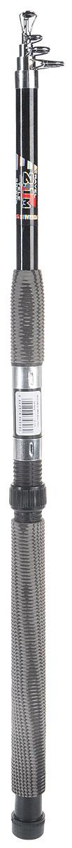 Спиннинг телескопический SWD Bull-Paul, 2,1 м, 30-60 г13-20-2-150Телескопический спиннинг длиной 2,1 м с тесто м 30-60г изготовленный из стеклопластика. Дополнительно может использоваться в качестве донного или поплавочного удилища.