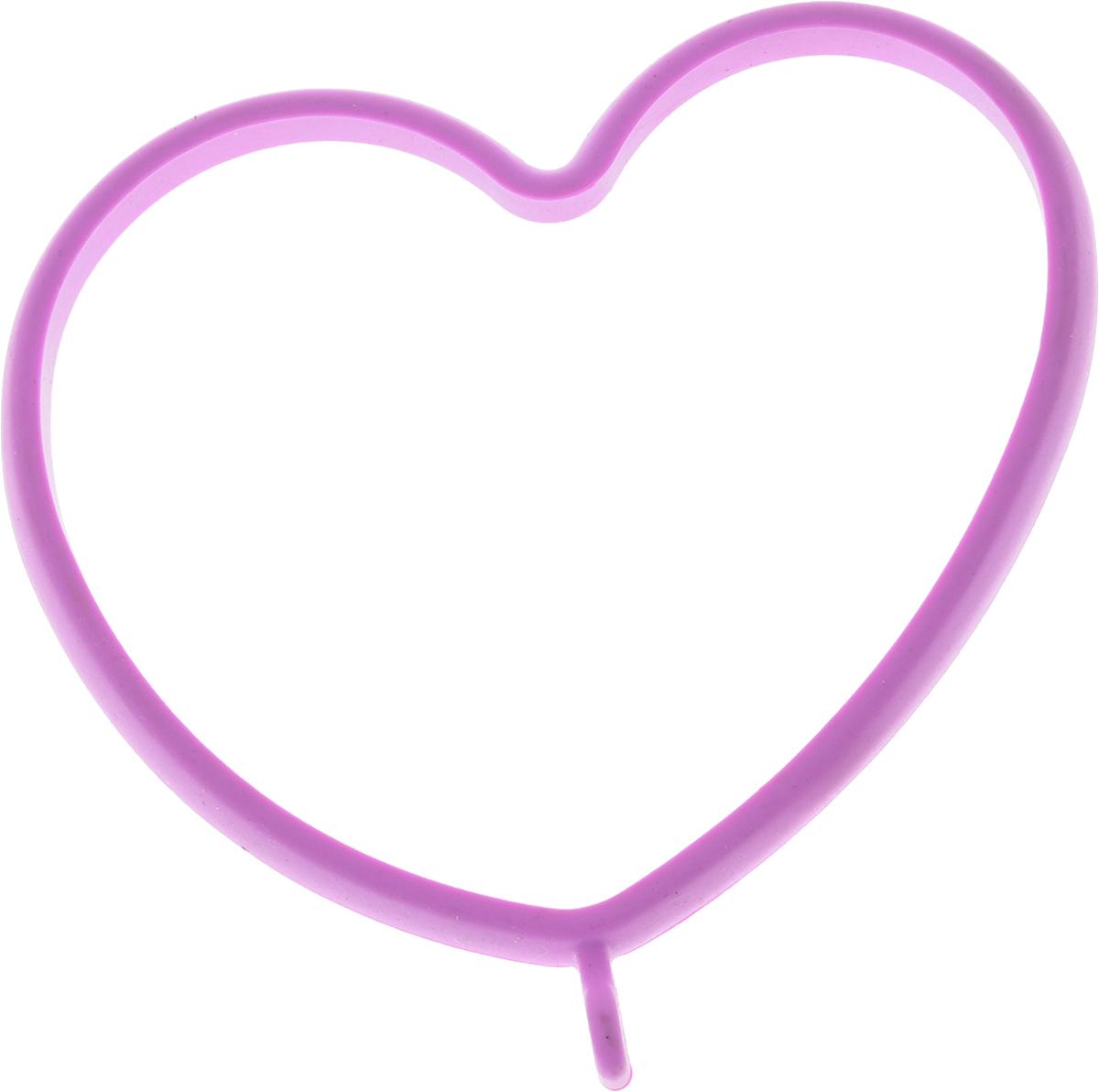 Форма для яичницы Oursson Сердце, 13,5 х 11,4 х 1 смBW1356S/MC_Форма для яичницы Oursson Сердце, выполненная из жаростойкого силикона, подходит для приготовления яичницы, омлета, оладий! Она добавит оригинальности обычным блюдам и особенно понравится детям! Форма не повреждает антипригарное покрытие сковород. Для получения идеального результата рекомендуется использовать ее на ровной поверхности сковороды. Размер формы: 13,5 х 11,4 х 1 см