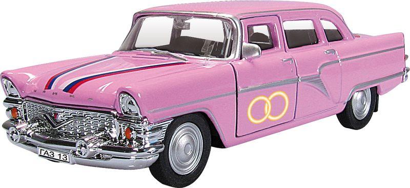 Autotime Модель автомобиля Чайка Свадебная autotime модель автомобиля мaz 5335 цвет оранжевый
